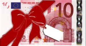 10e ilmaista pelirahaa lahjaksi