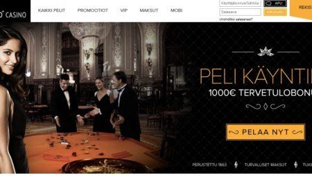 1000€ Bonus ja 20 ilmaiskierrosta!