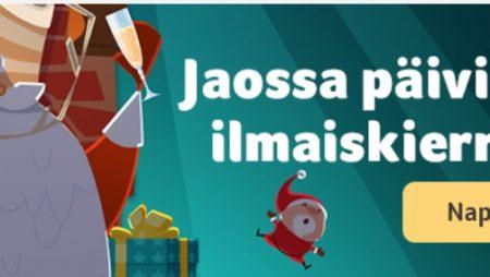Kolikkopelit.com jakaa ylimääräisiä ilmaiskierroksia ja muita bonuksia koko joulukuun ajan!