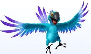 Karamban maskottipapukaija